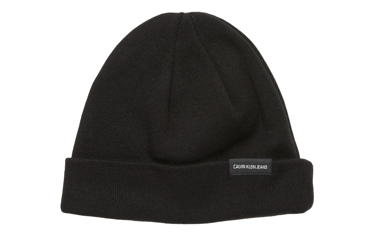 Calvin Klein J WATCH BEANIE - BLACK BEAUTY