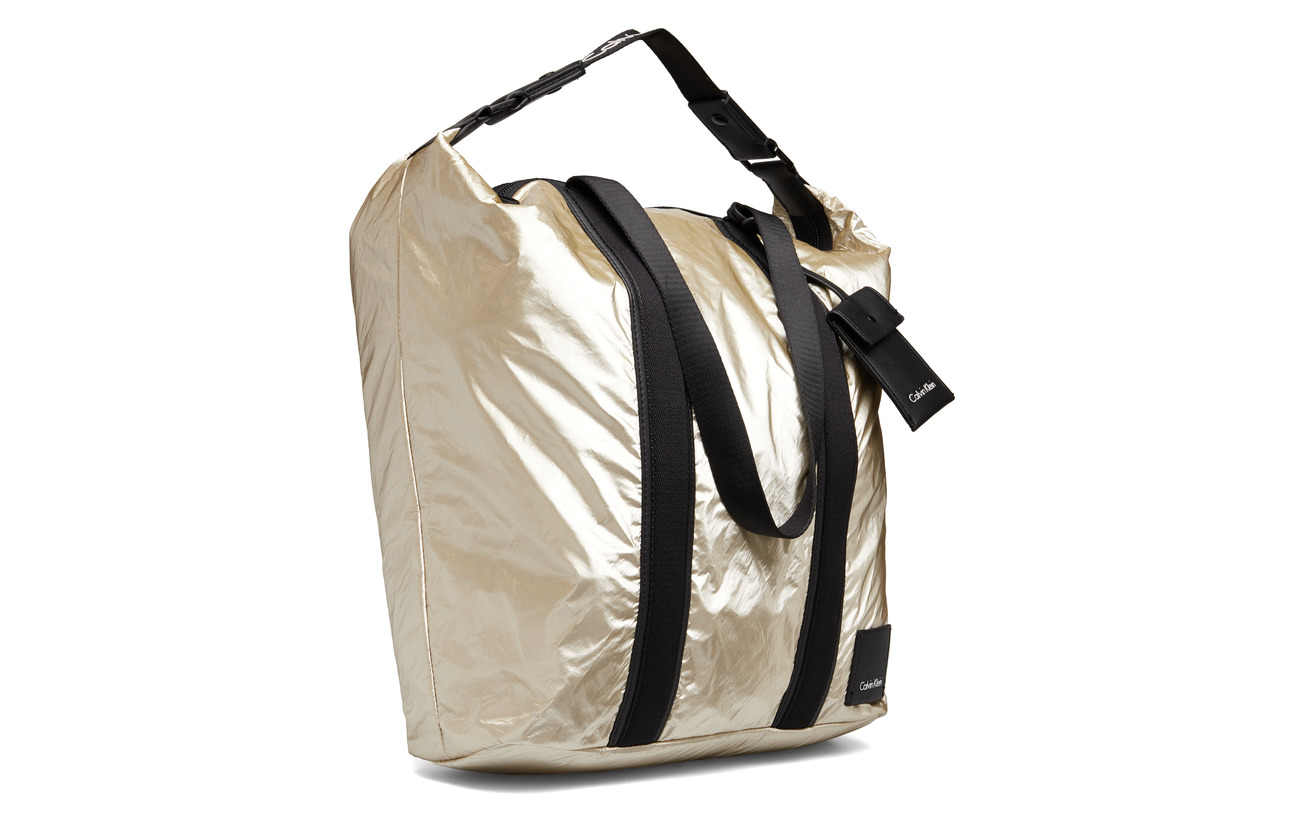 Fluid Large 35 65 Light Gold Shopper Calvin Klein Polyethylene Polyurethane 5qZCwxA