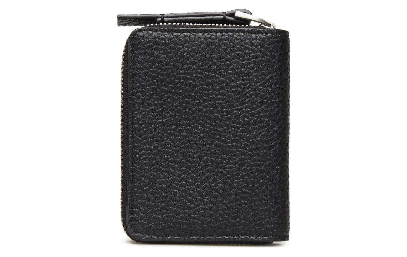Calvin Base Ck 100 Small Klein Polyurethane Black Wallet 141wqfrn6