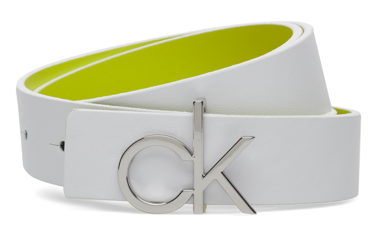 Calvin Klein 3CM REV. CK GIFTSET - WHITE/FLUO YELLOW