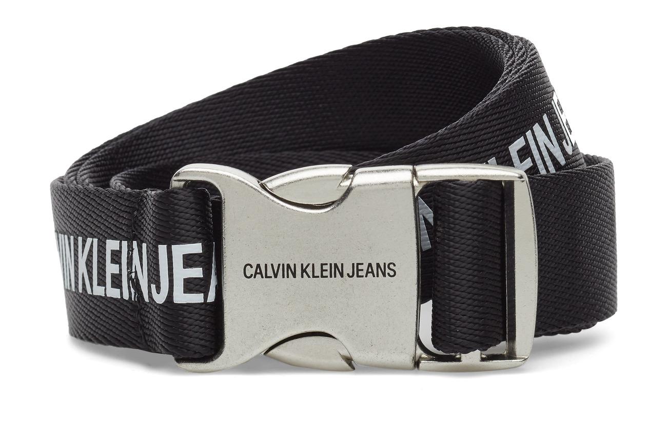 Klein 3cm J Canvas Plaquewhite blackCalvin rCQdsxtBho
