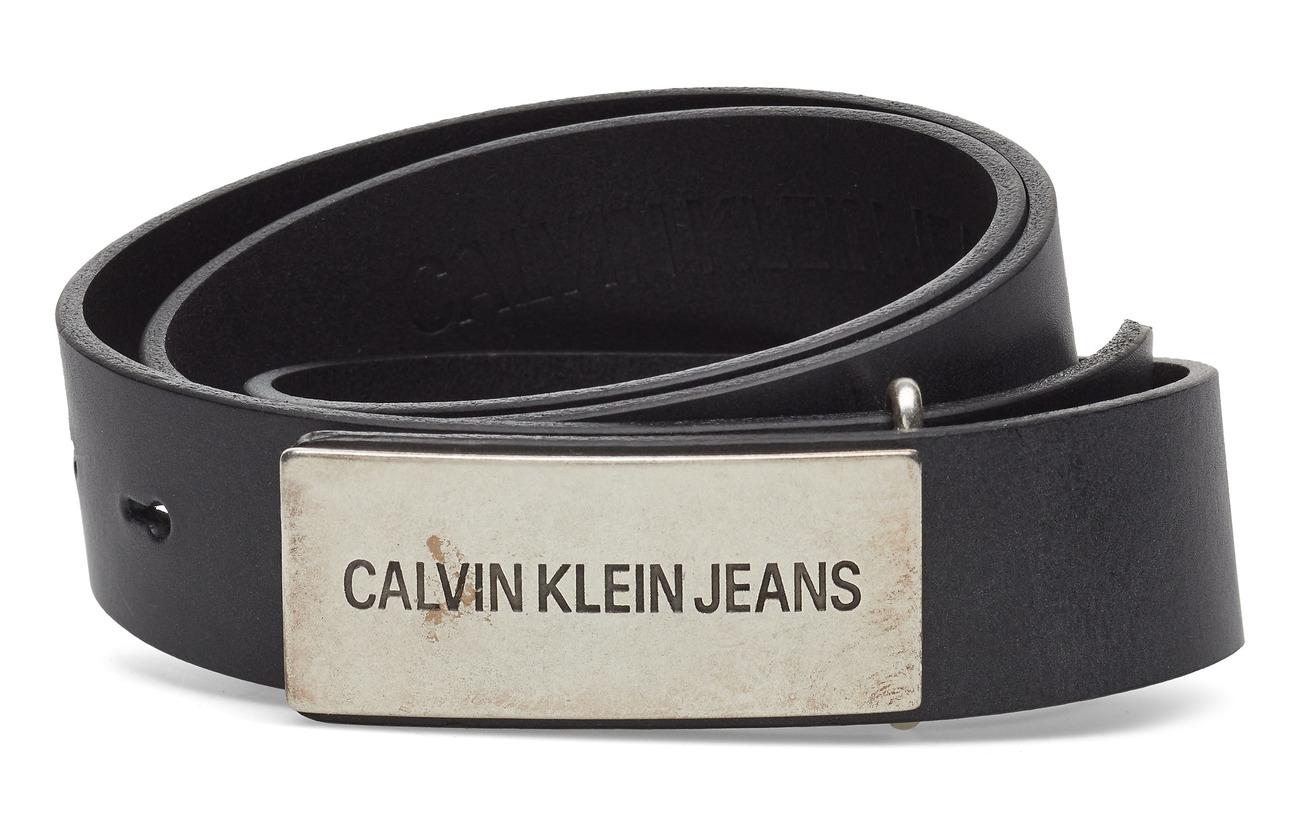 Long Leblack 3cm BeautyCalvin Plaque Klein J F5uT1KJcl3