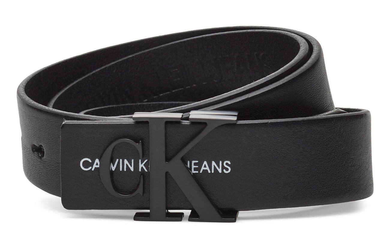 Calvin Klein J 3CM MONO LEATHER B - BLACK BEAUTY