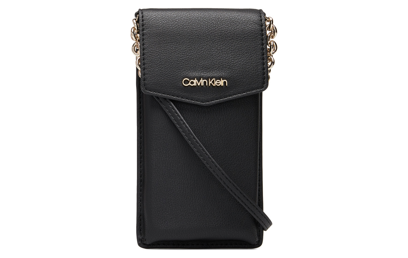 Calvin Klein CK MUST PHONE POUCH - BLACK