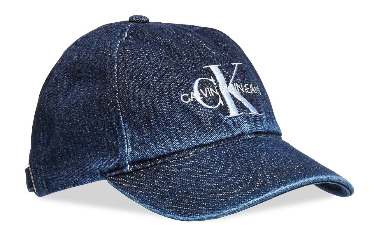 Calvin Klein J MONOGRAM DENIM CAP - DENIM