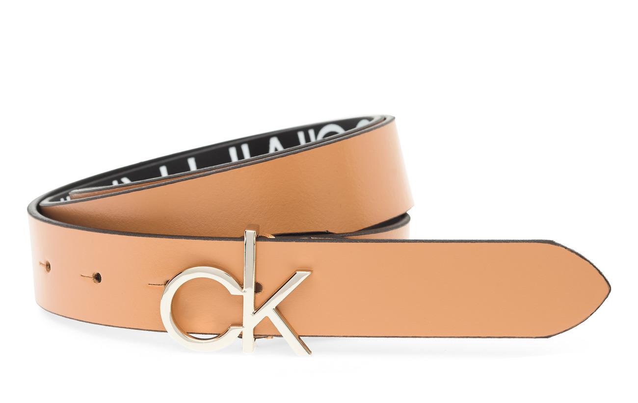 Calvin Klein CK LOW BELT ADJ 3.0 - DARK SAND