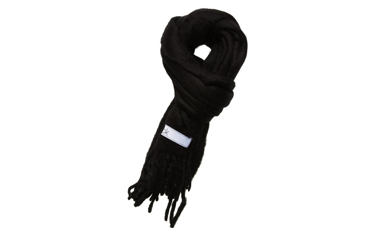 Calvin Klein BOILED SCARF - BLACK