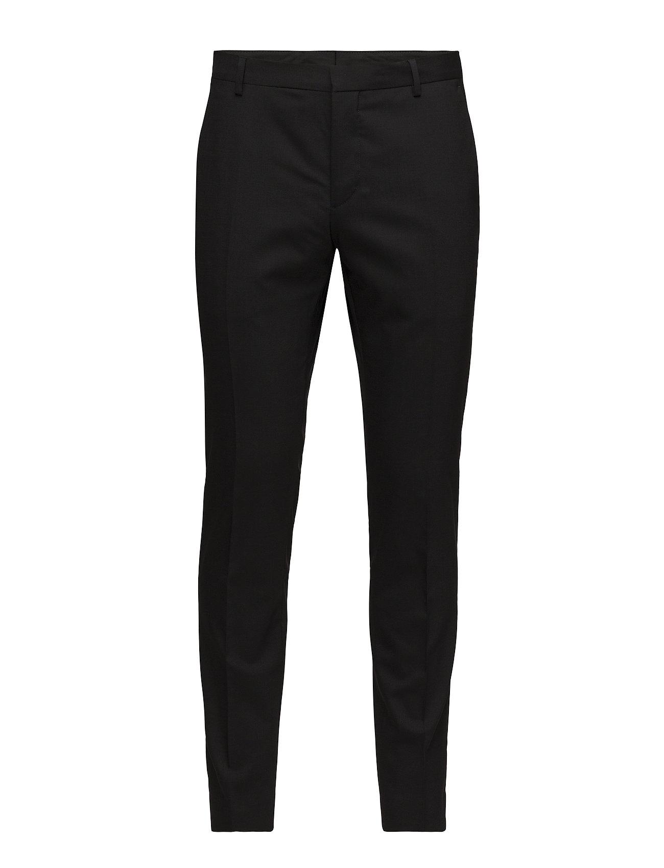 Calvin Klein STRETCH WOOL SLIM SU - PERFECT BLACK