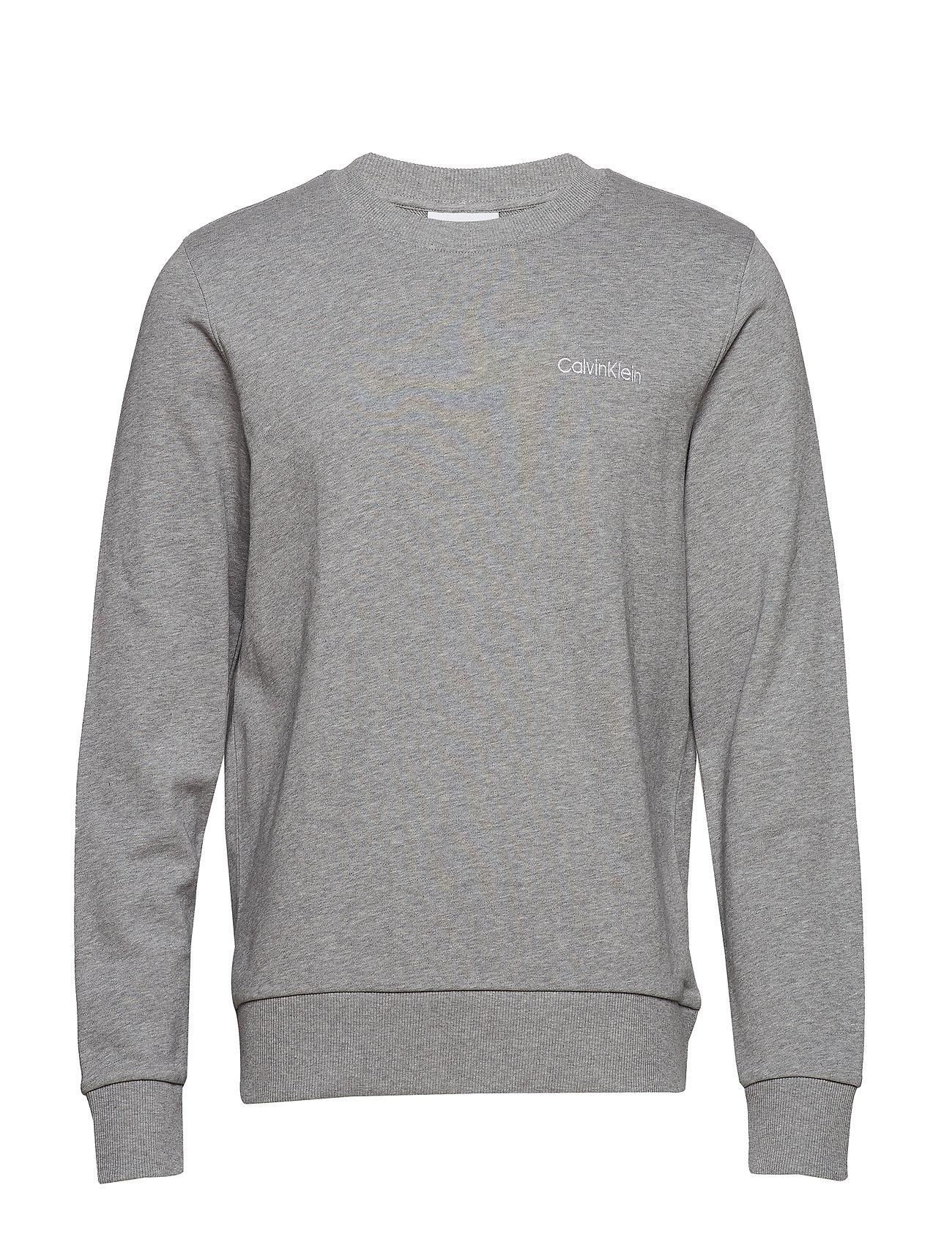 Chest Grey Embroidery Sweatshirtmid HeatherCalvin Klein uJKcT1lF3
