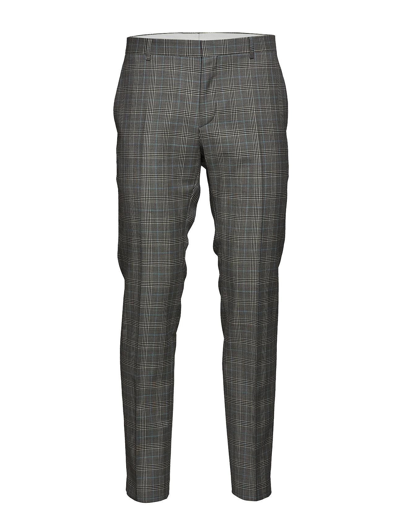 CALVIN KLEIN Glencheck S120 Suit, Anzughosen Businesshosen Grau CALVIN KLEIN