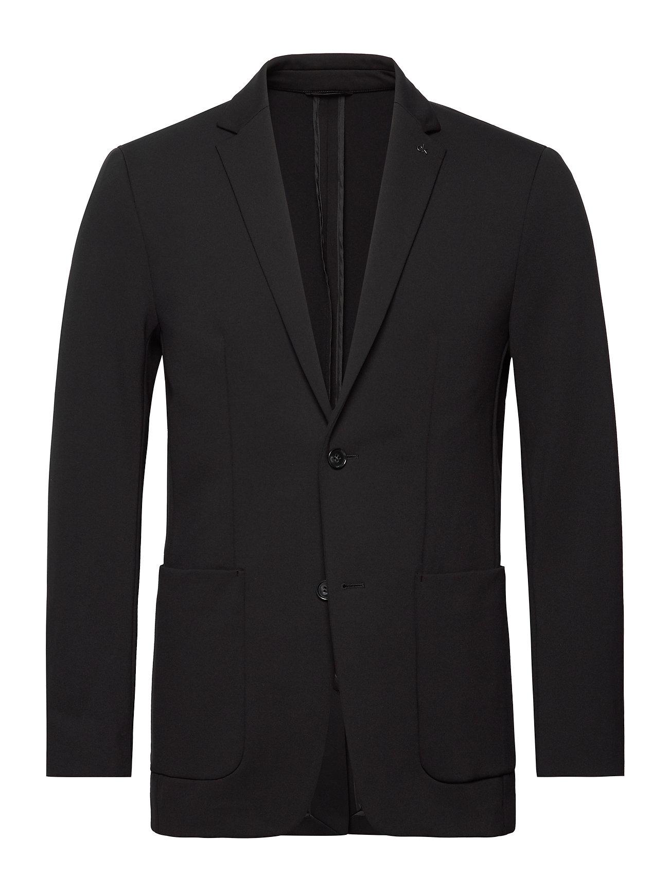 Calvin Klein SOLID JERSEY CASUAL  BLAZER - CALVIN BLACK