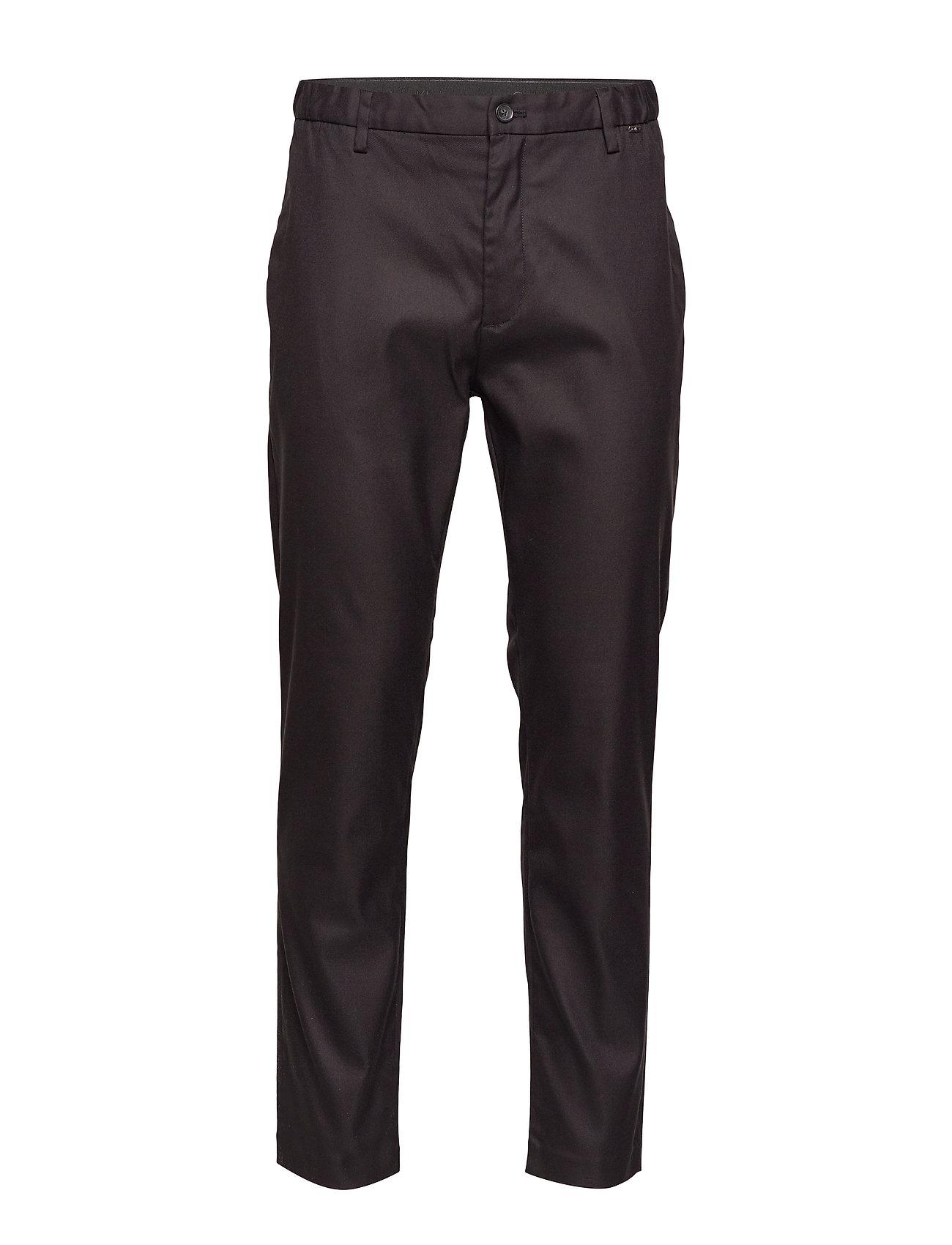 Calvin Klein TAPERED ELASTIC TWILL PANT - CALVIN BLACK