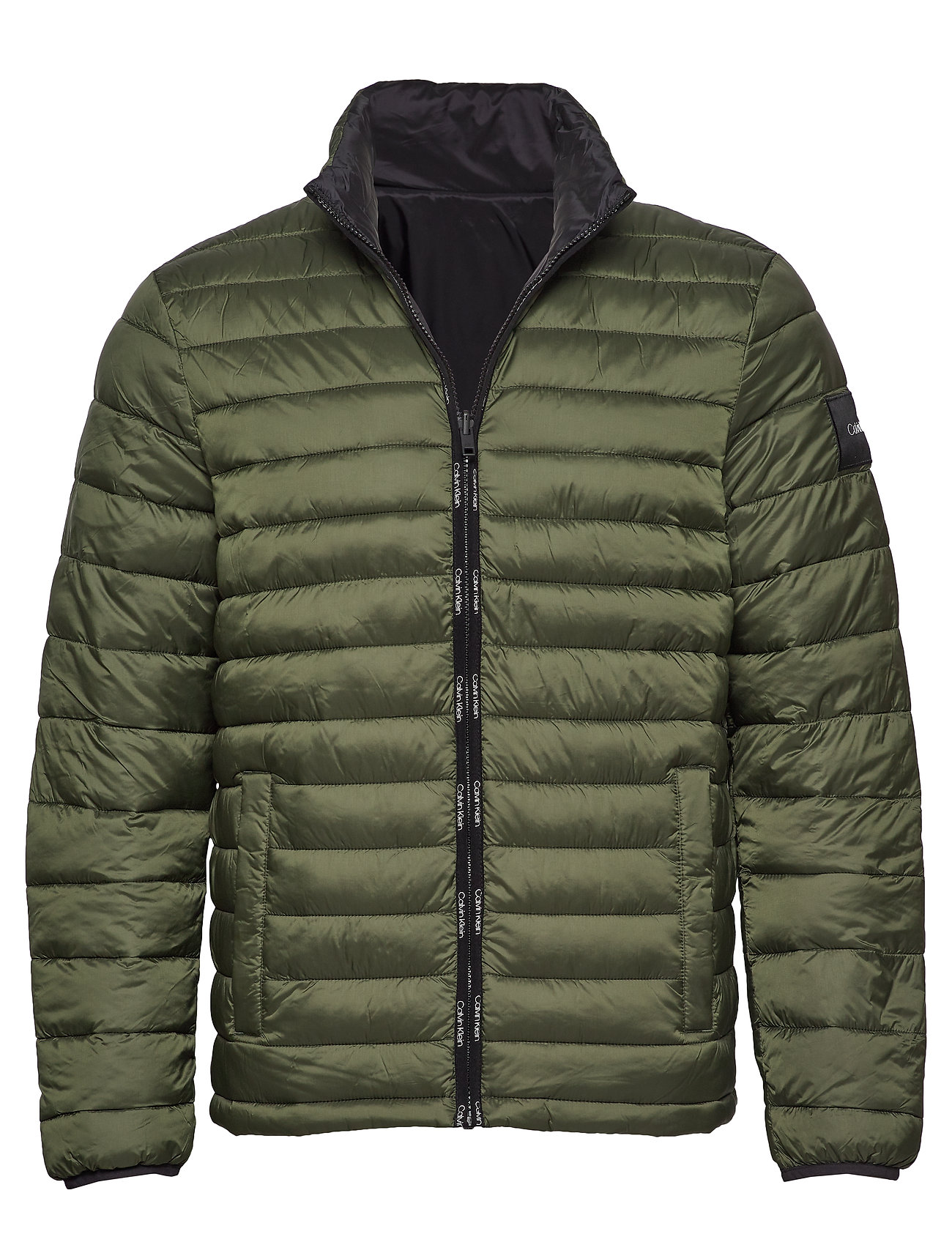 Calvin Klein REVERSIBLE NYLON JACKET - DARK OLIVE