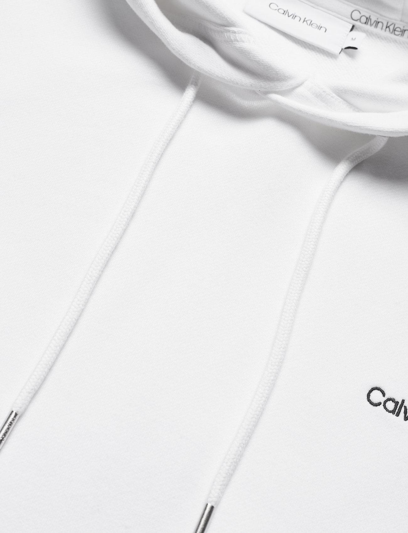 Calvin Klein - LOGO EMBROIDERY HOODIE - hoodies - bright white - 2