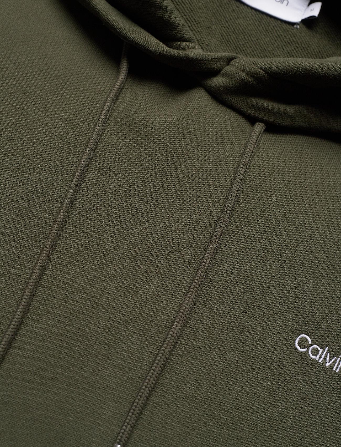 Calvin Klein - LOGO EMBROIDERY HOODIE - hoodies - dark olive - 2