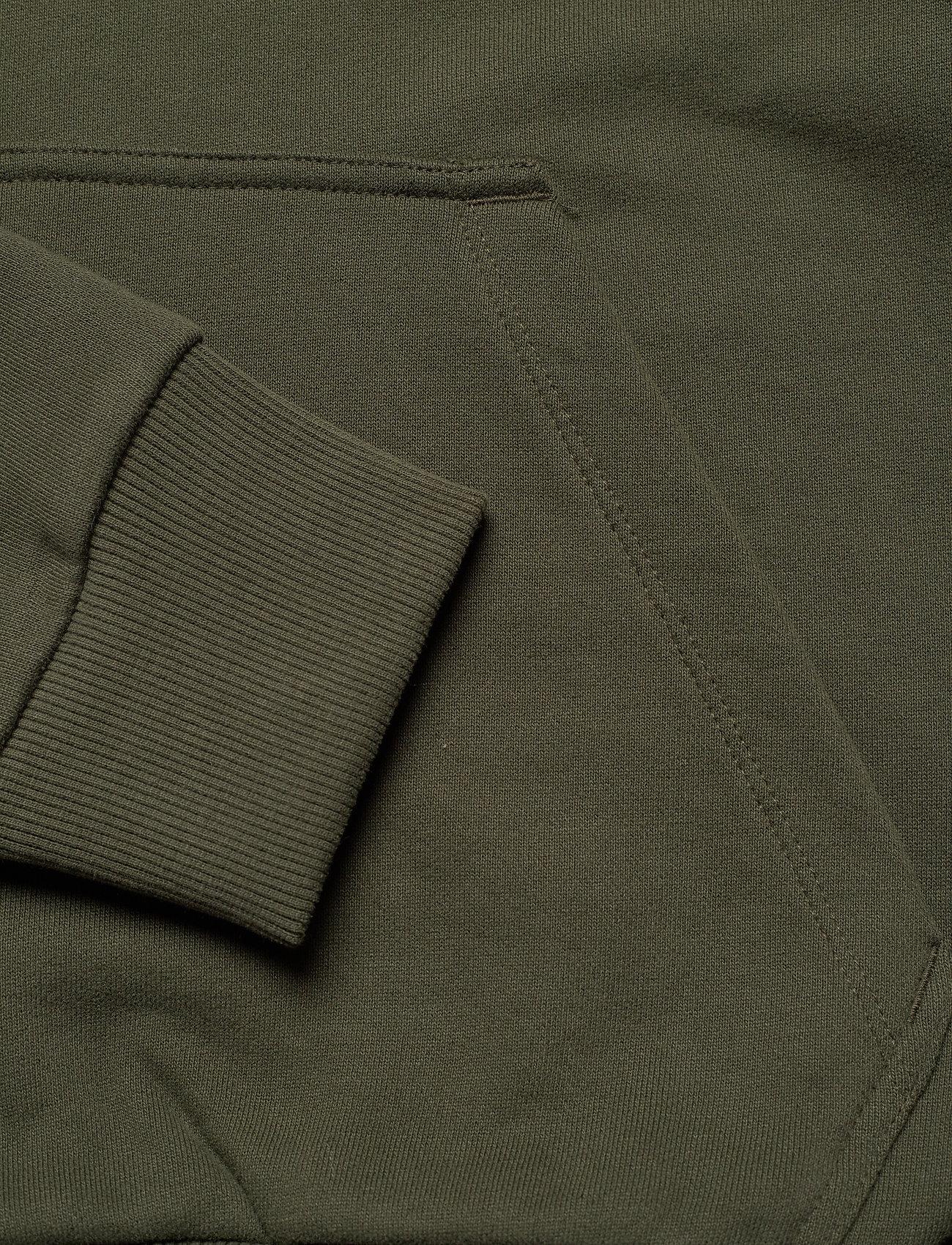 Calvin Klein - LOGO EMBROIDERY HOODIE - hoodies - dark olive - 3