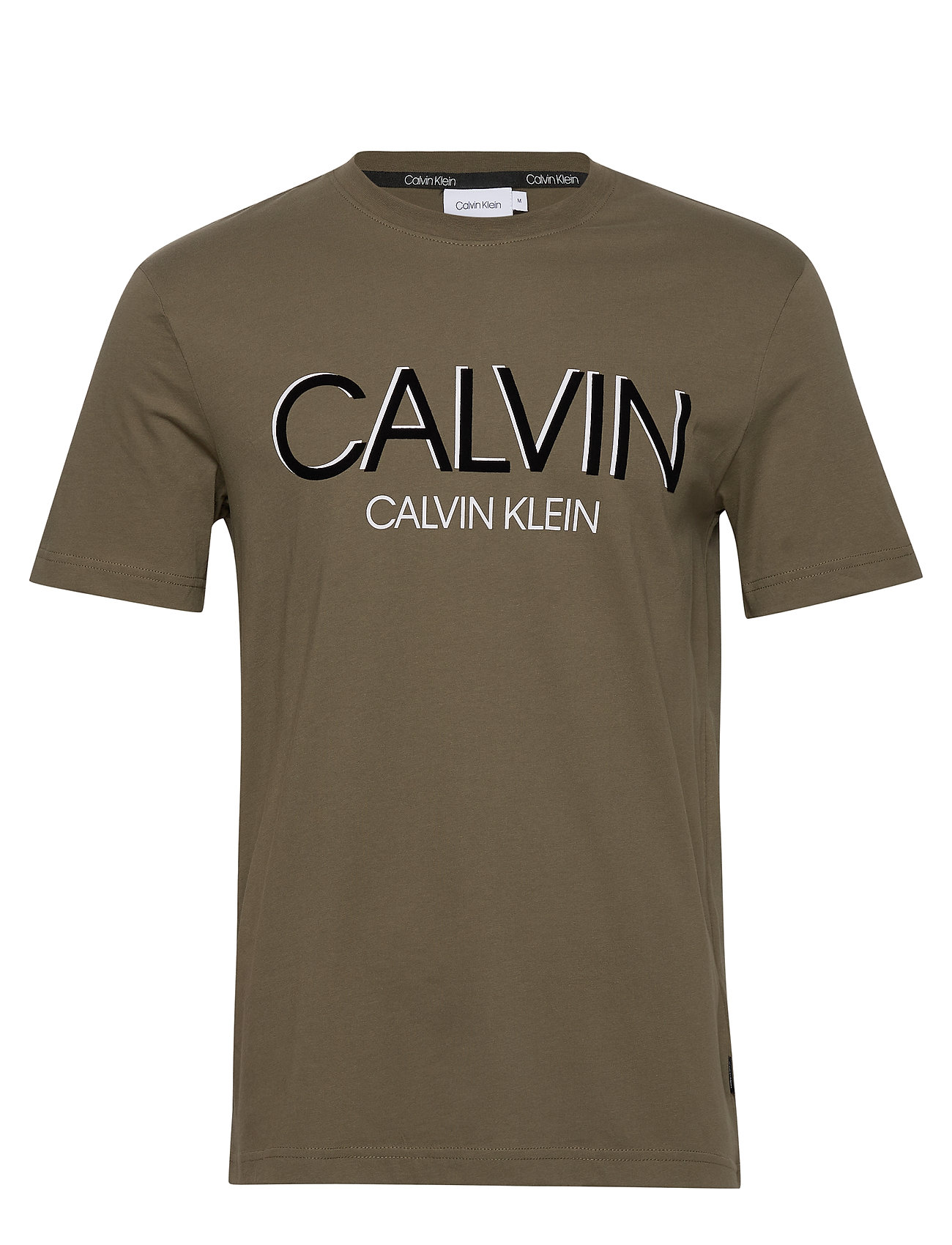 Image of Calvin Shadow Logo T-Shirt T-shirt Grøn Calvin Klein (3411339047)