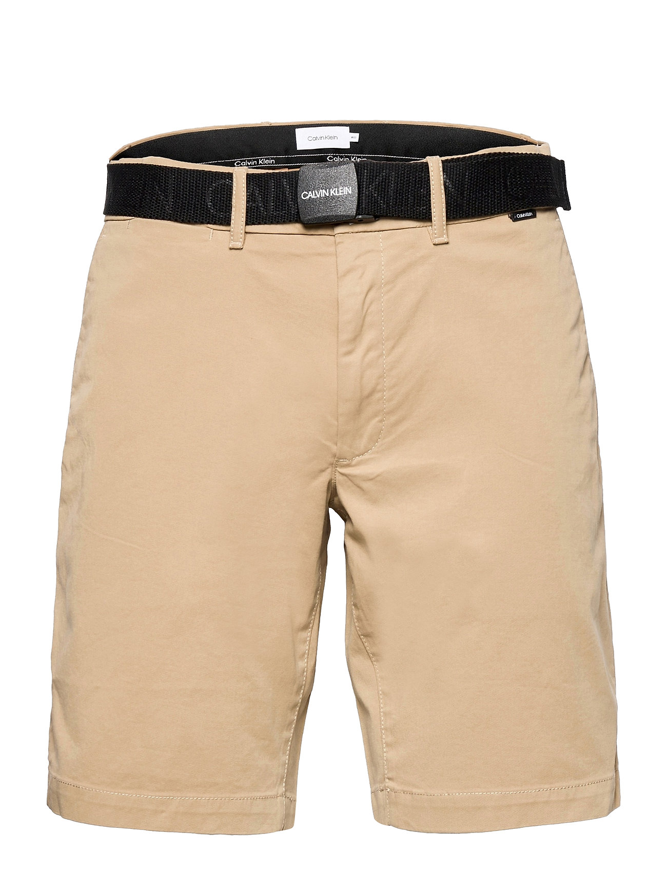 Image of Garment Dye Belted Shorts Shorts Chinos Shorts Beige Calvin Klein (3510547891)