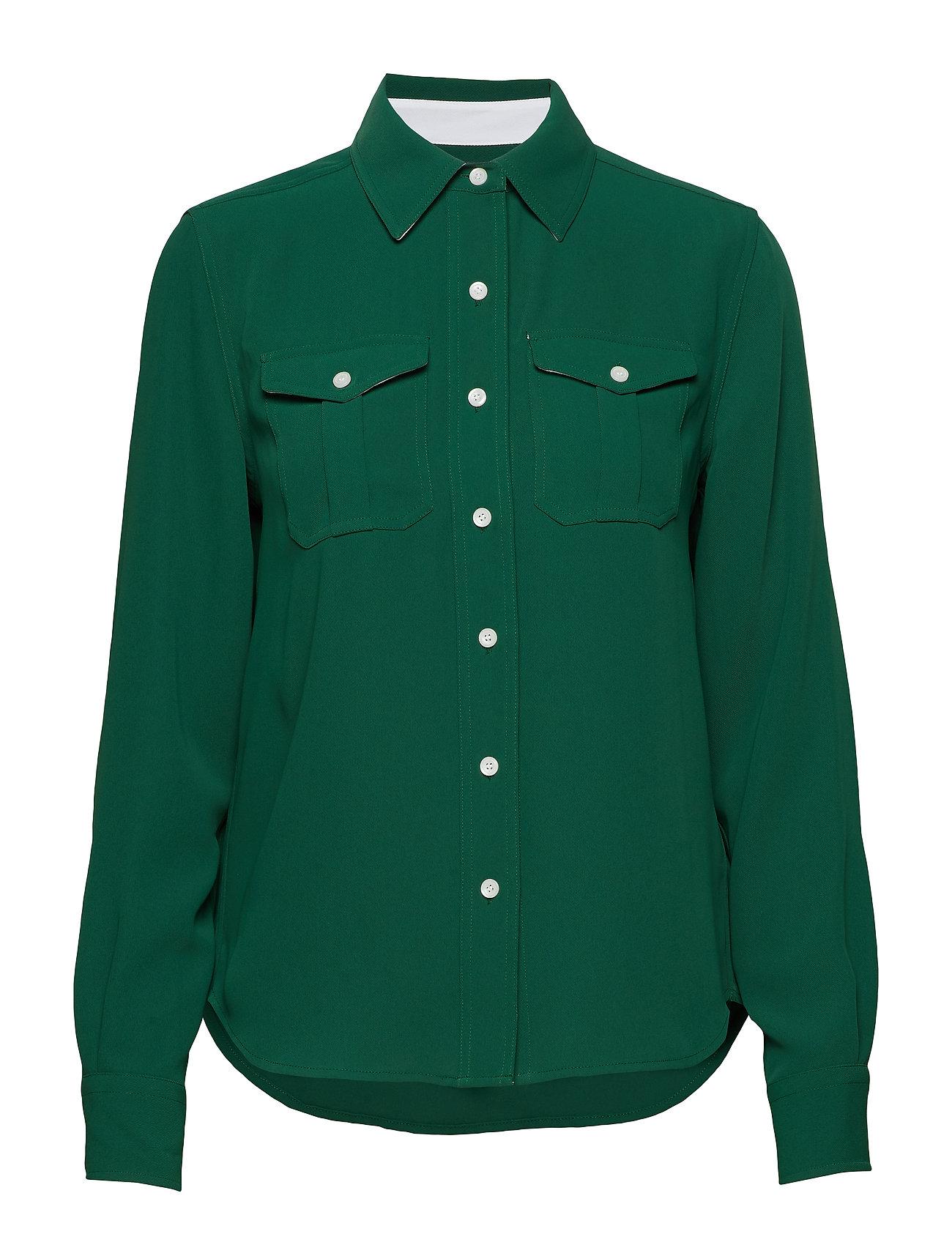 Calvin Klein POLICE PKT SHIRT LS - GREEN