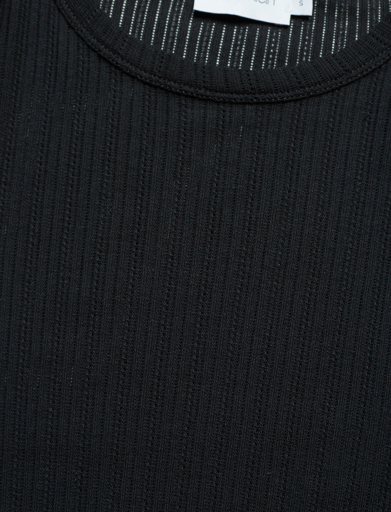 Pointelle Slvperfect BlackCalvin Klein C nk Half Detail LzpGVSUMjq