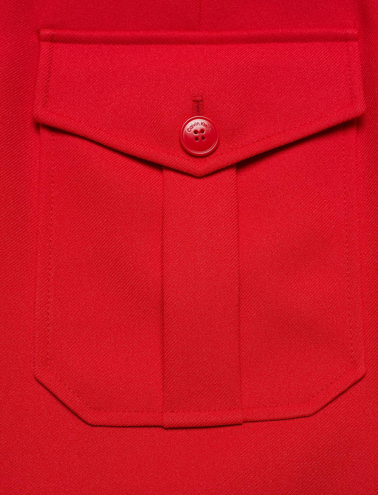 Calvin Klein Uniform Twill A-line Pkt Skirt - Kjolar