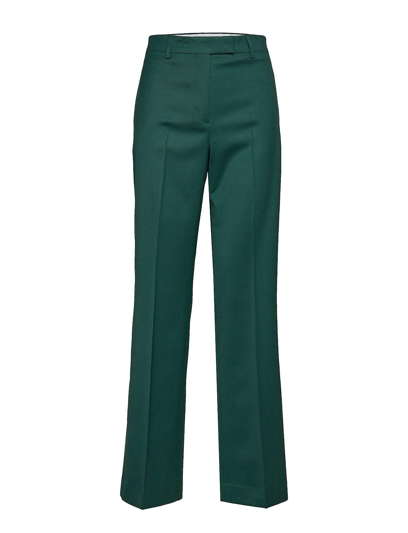 Calvin Klein WOOL TWILL WIDE LEG - CK PINE