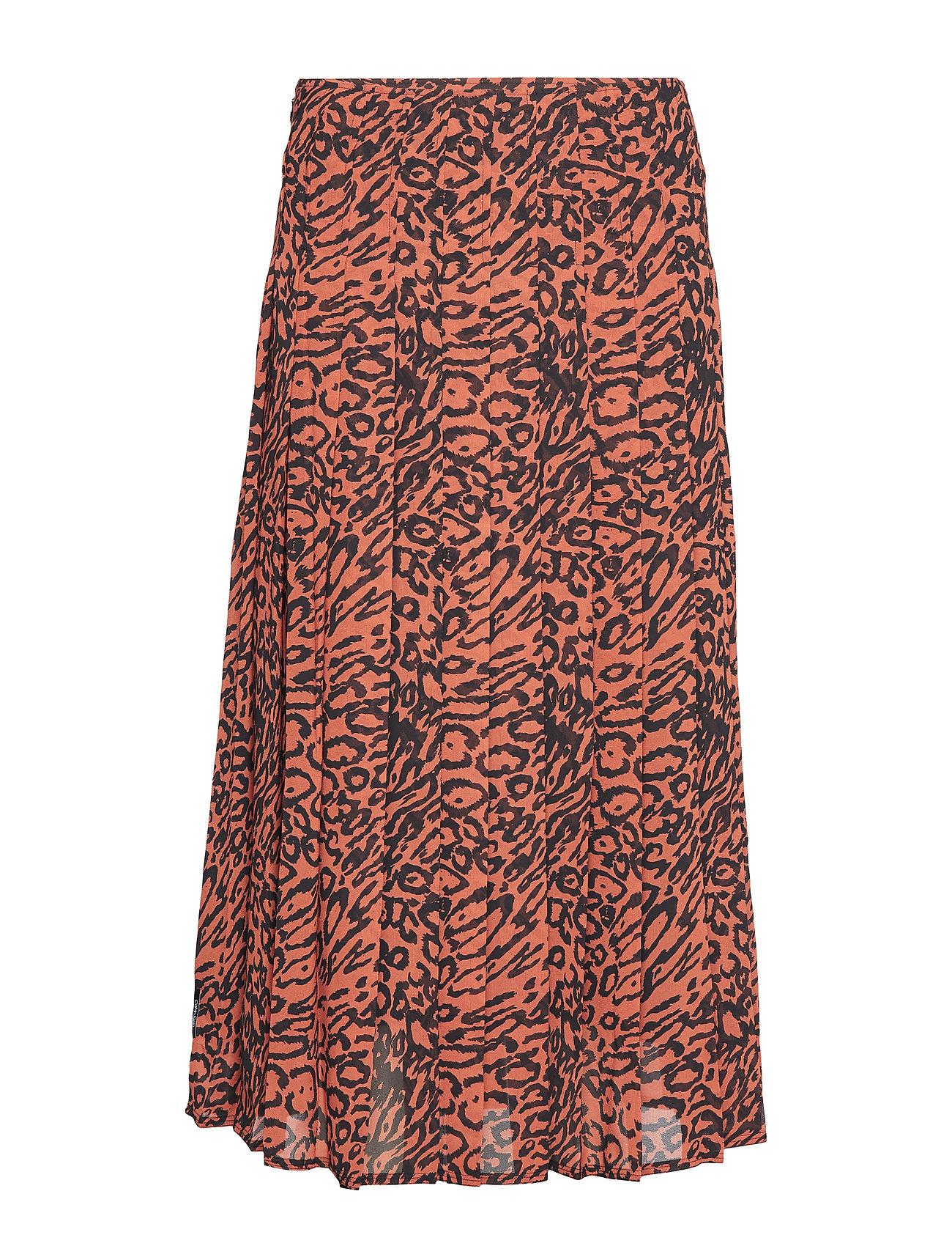 Leopard Klein Georgette PleopardBrownCalvin Leopard Georgette LSpjGMUzqV