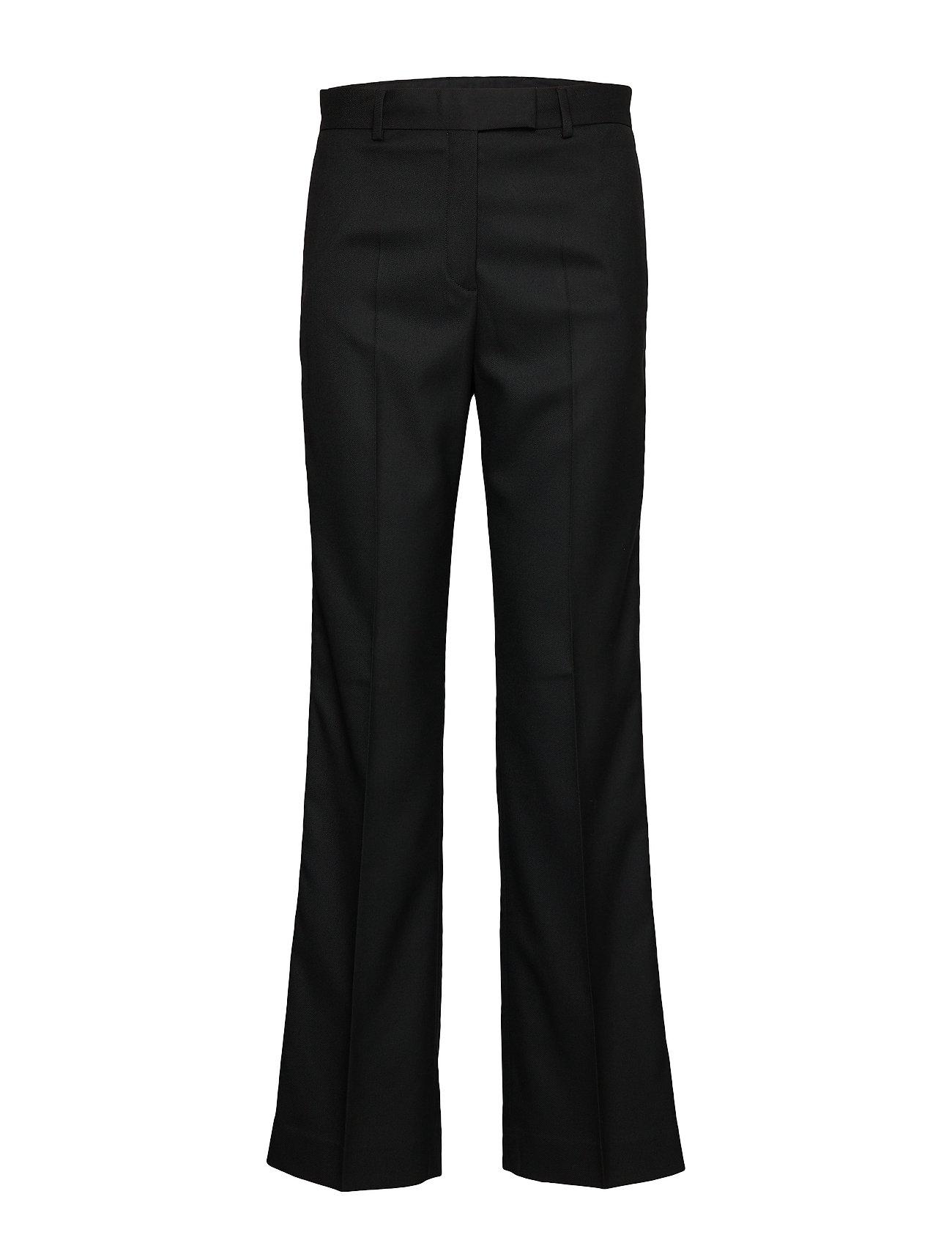 Calvin Klein FINE TWILL WIDE LEG PANT - CALVIN BLACK