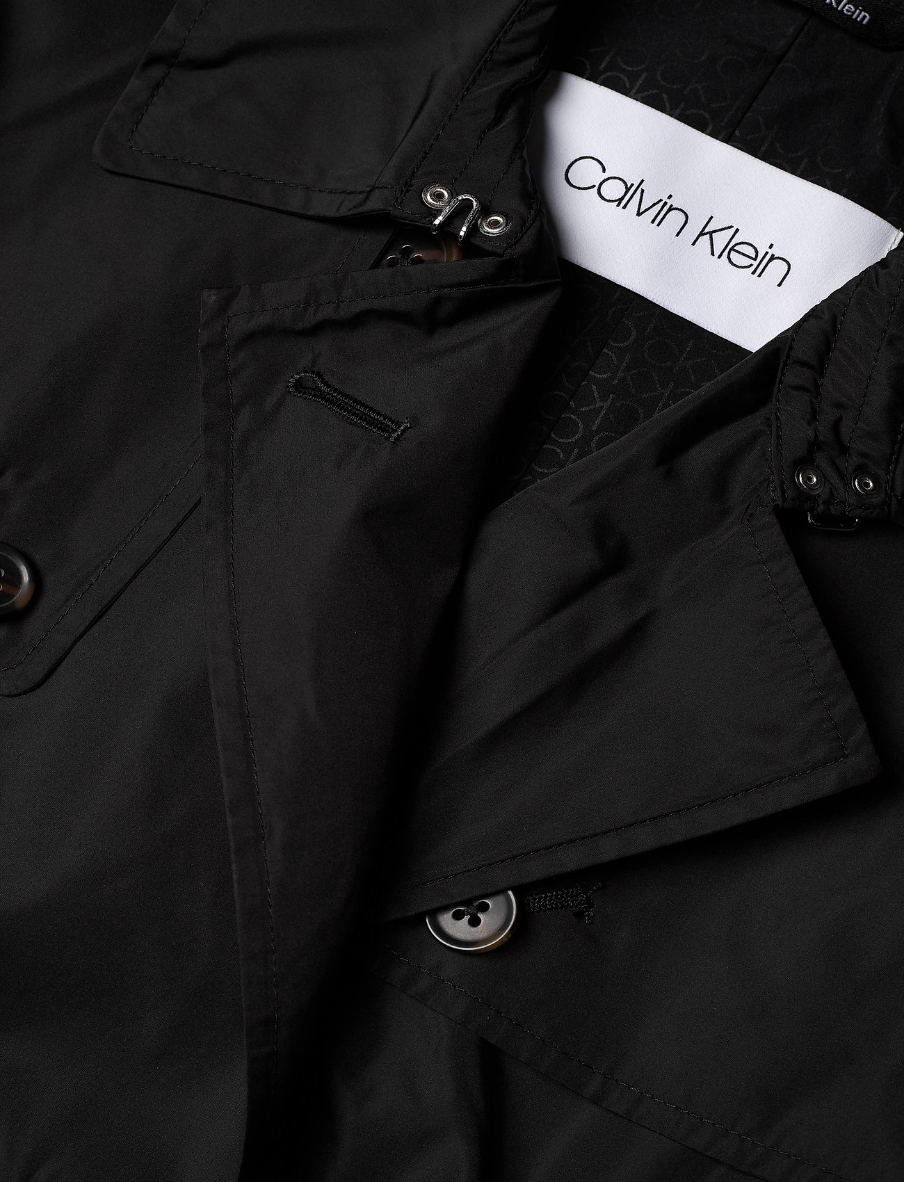 Lightweight Nylon Trench (Ck Black) (2800 kr) - Calvin Klein