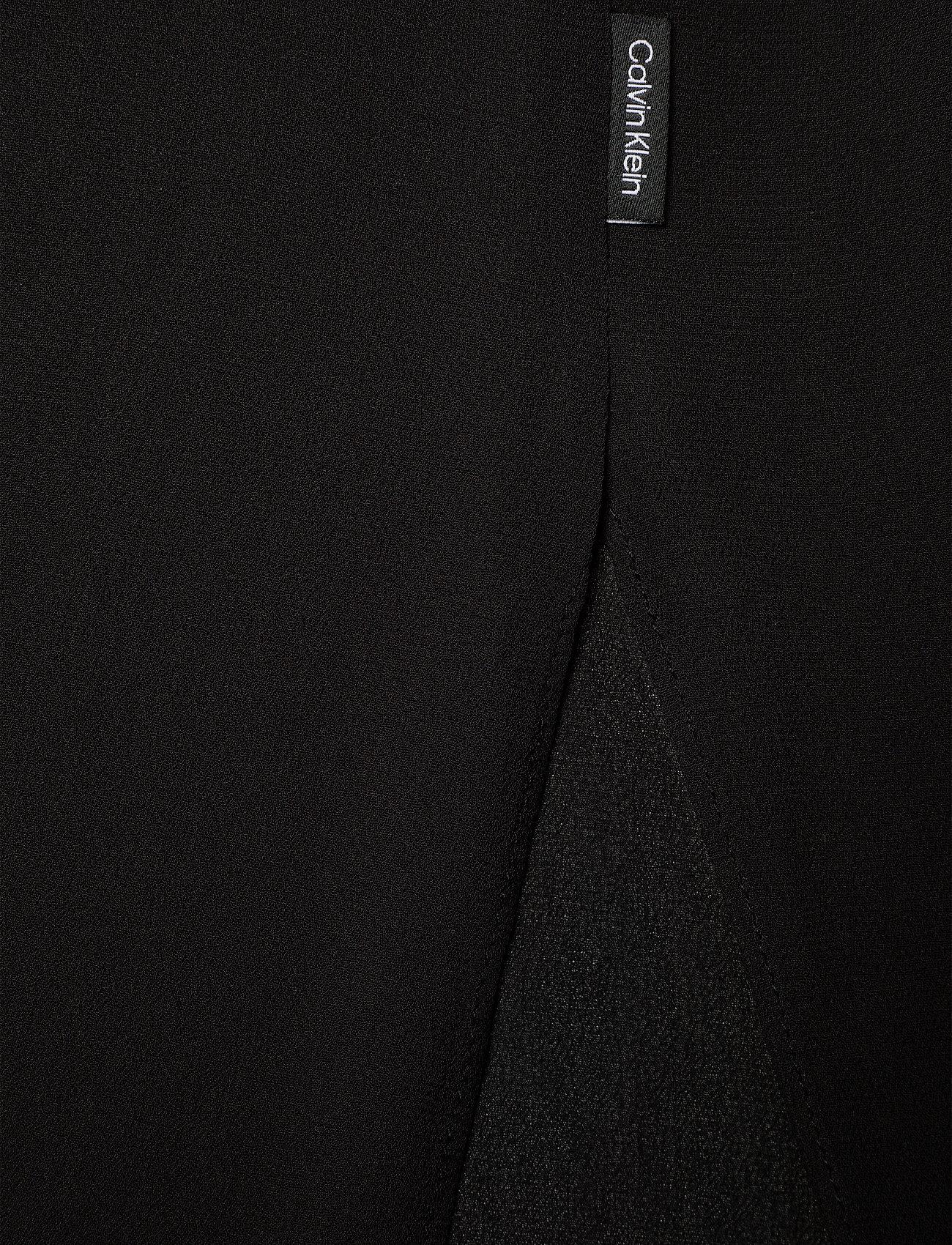 Viscose Georgette Dress (Ck Black) (2200 kr) - Calvin Klein