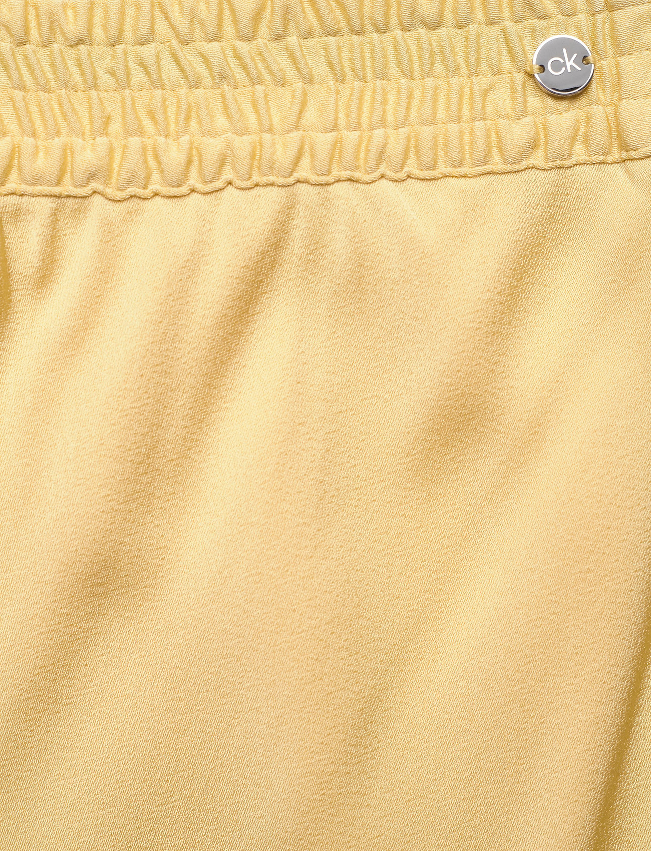 Elasticated Bias Cut Midi Skirt (Muted Yellow) (1700 kr) - Calvin Klein