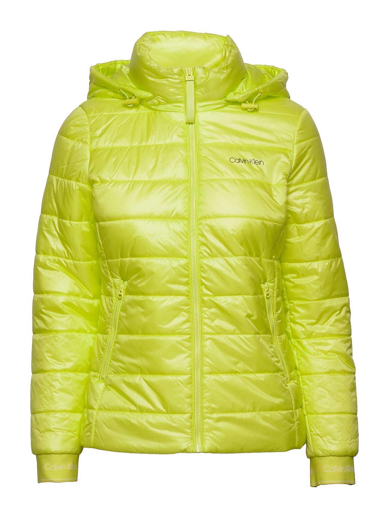 Essential Sorona Short Jacket Foret Jakke Grøn Calvin Klein