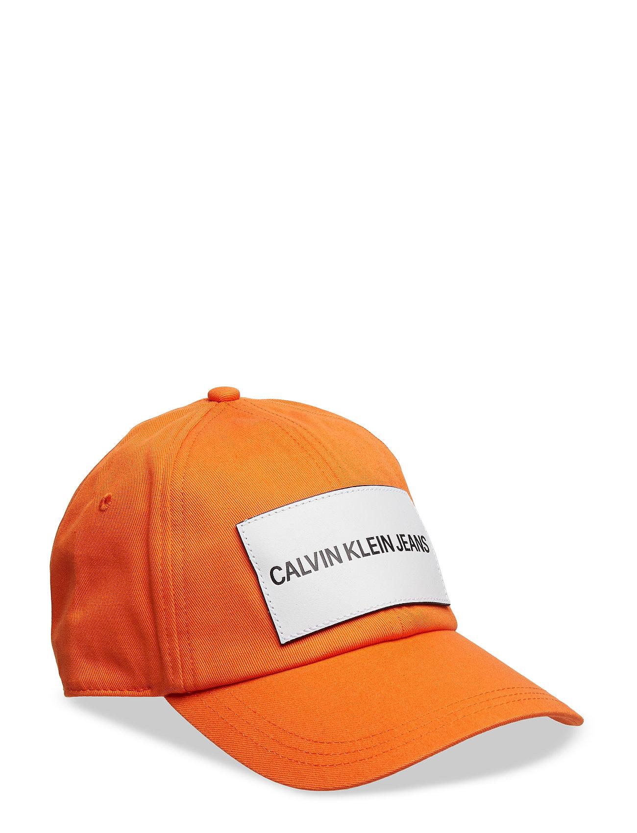 Image of J Calvin Klein Jeans Accessories Headwear Caps Orange Calvin Klein (3094066301)