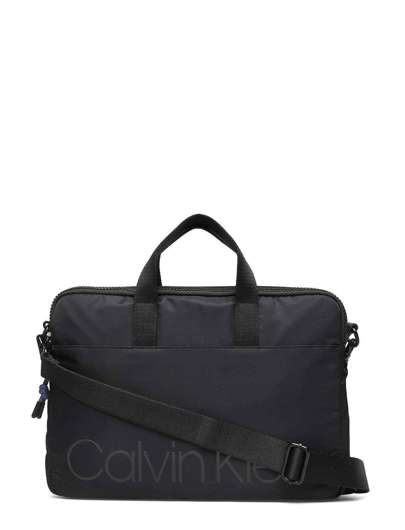 CALVIN KLEIN Trail Slim Laptop Ba Laptop-Tasche Tasche Schwarz CALVIN KLEIN