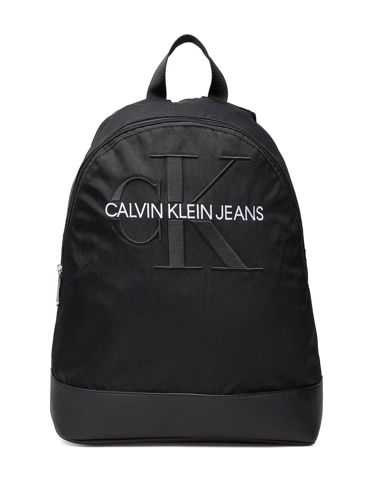 Calvin Klein CKJ MONOGRAM NYLON CP BP 40 - BLACK