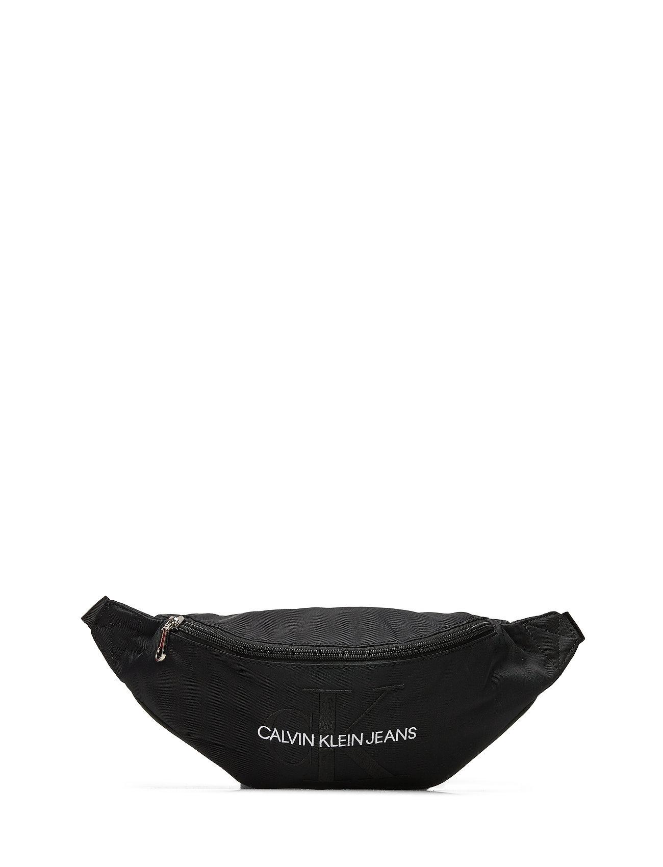 Calvin Klein CKJ MONOGRAM NYLON STREET PACK - BLACK