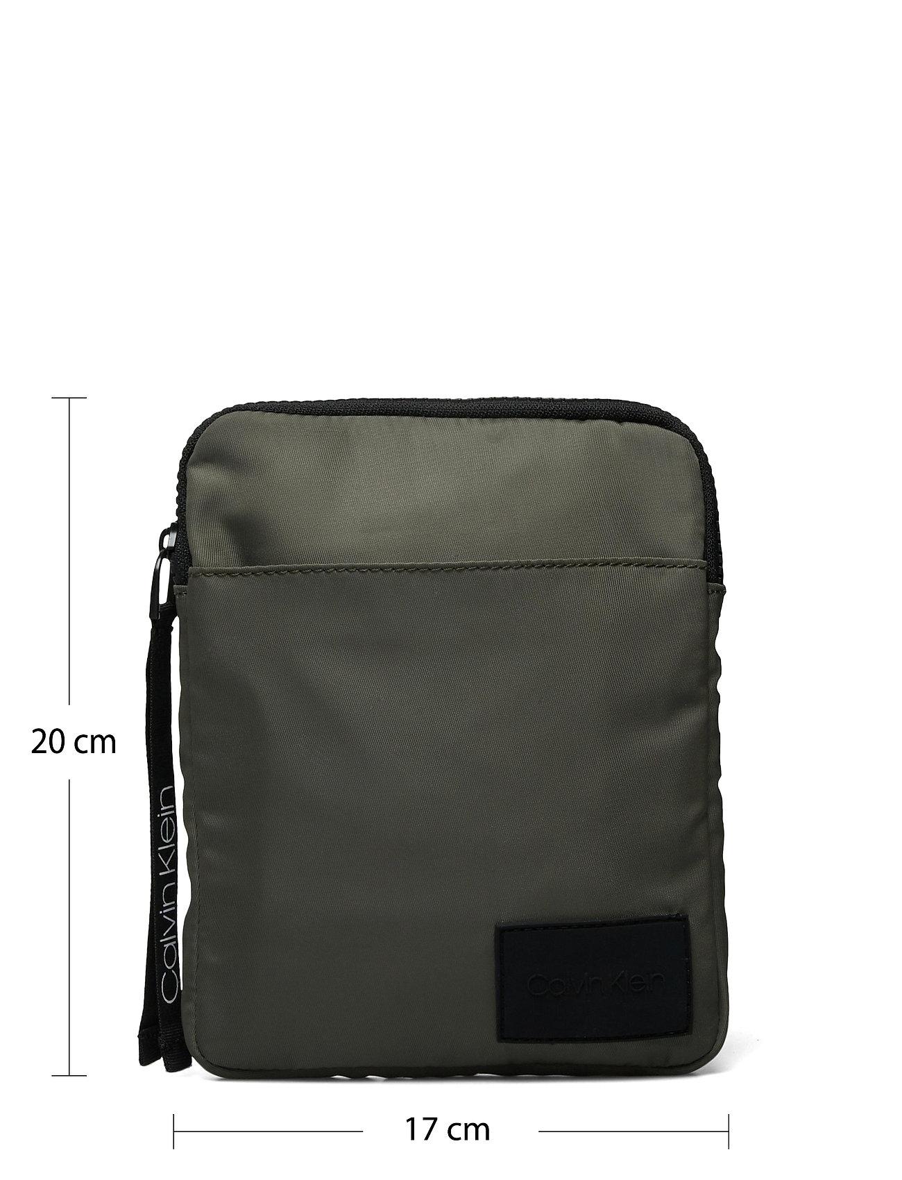 Calvin Klein - FLAT PACK S - shoulder bags - dark olive - 5