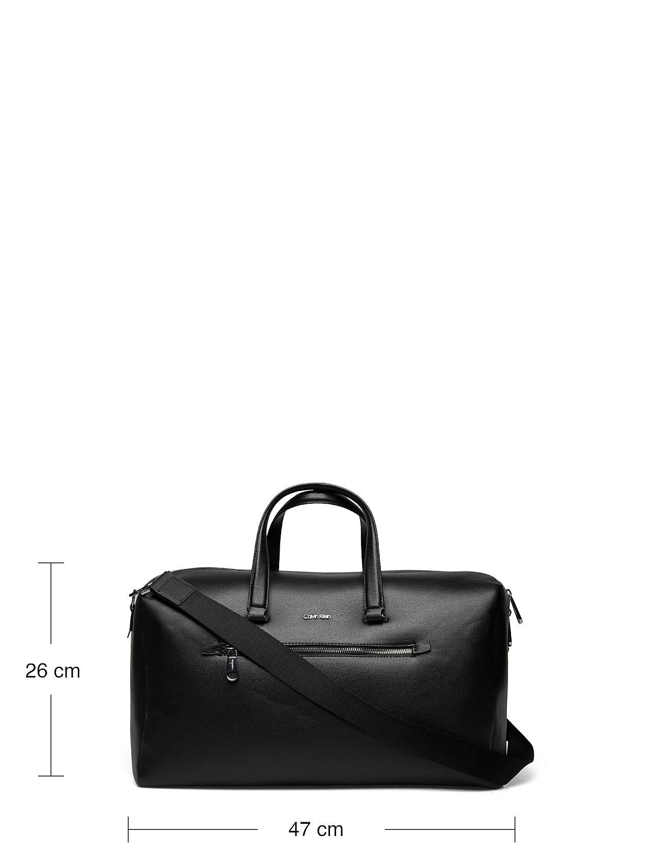 Calvin Klein - MINIMALISM WEEKENDER - gym bags - ck black - 5