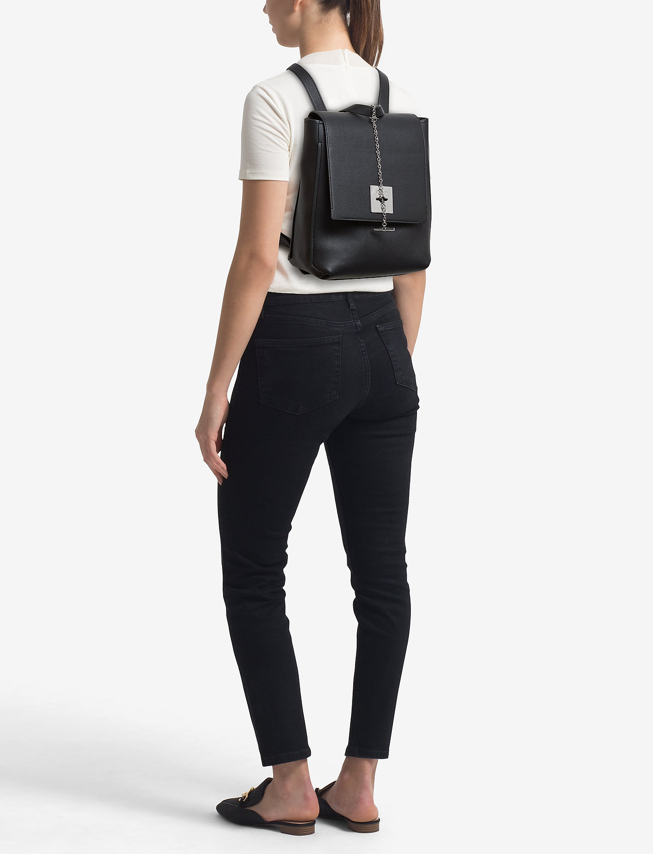 Calvin Klein CK LOCK BACKPACK - BLACK