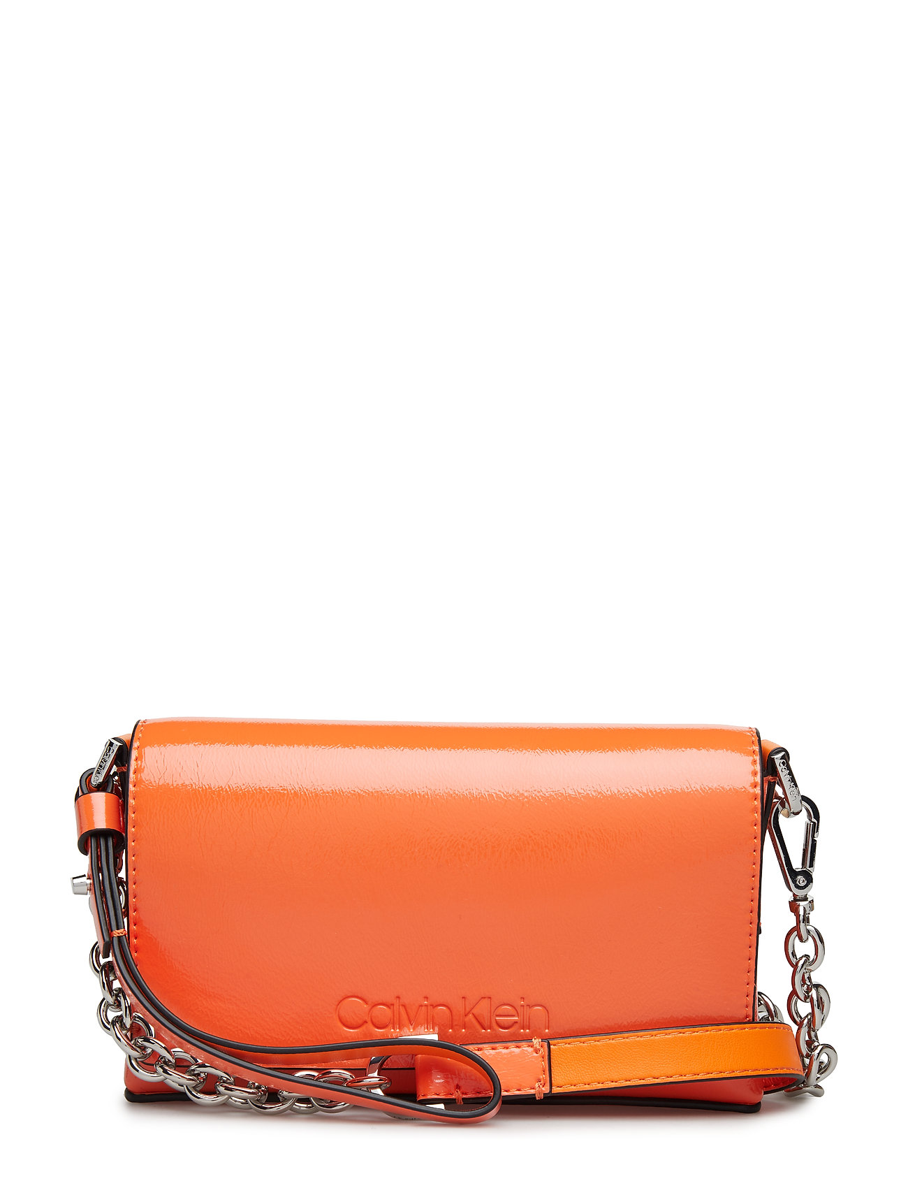 CALVIN KLEIN Dressed Up Pouch On, Bags Small Shoulder Bags/crossbody Bags Orange CALVIN KLEIN