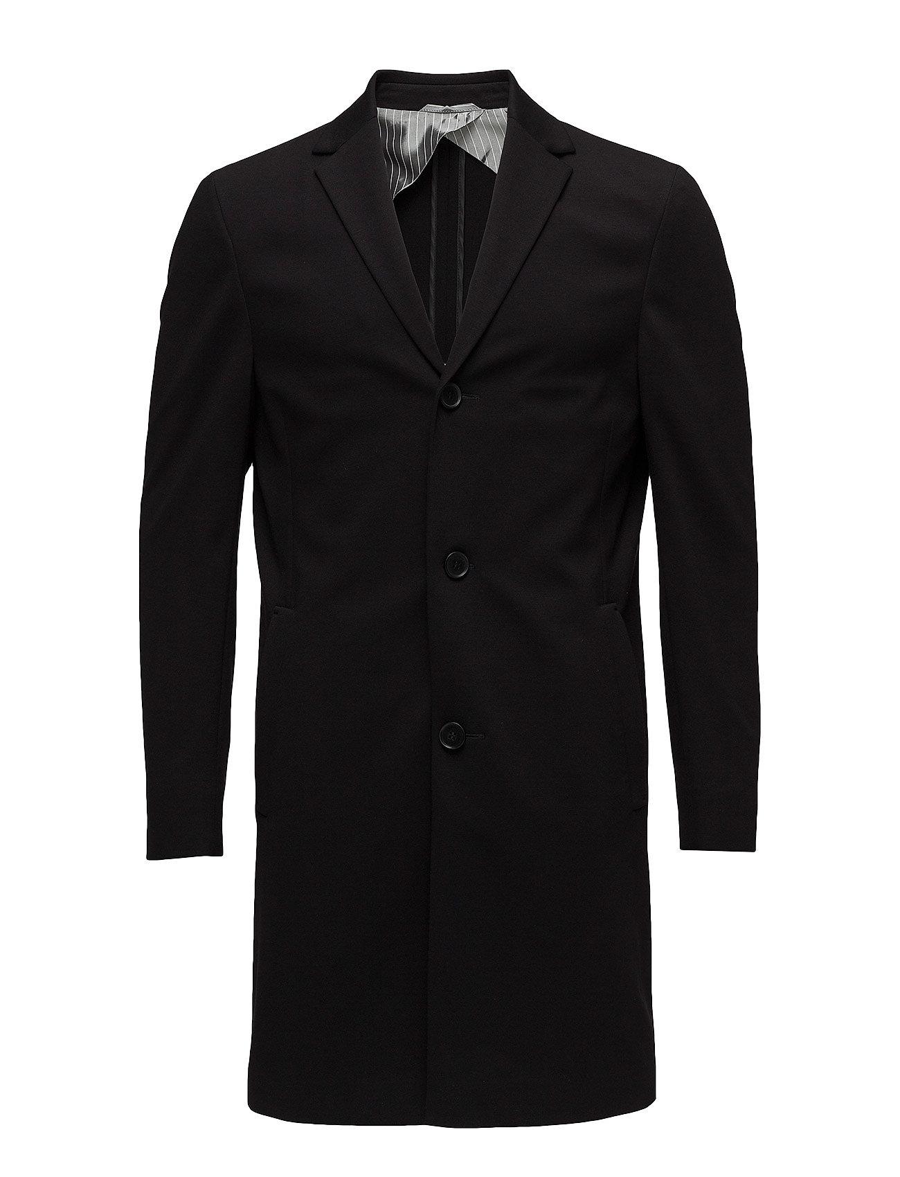 Calvin Klein CARLO-U COMPACT JERS - PERFECT BLACK