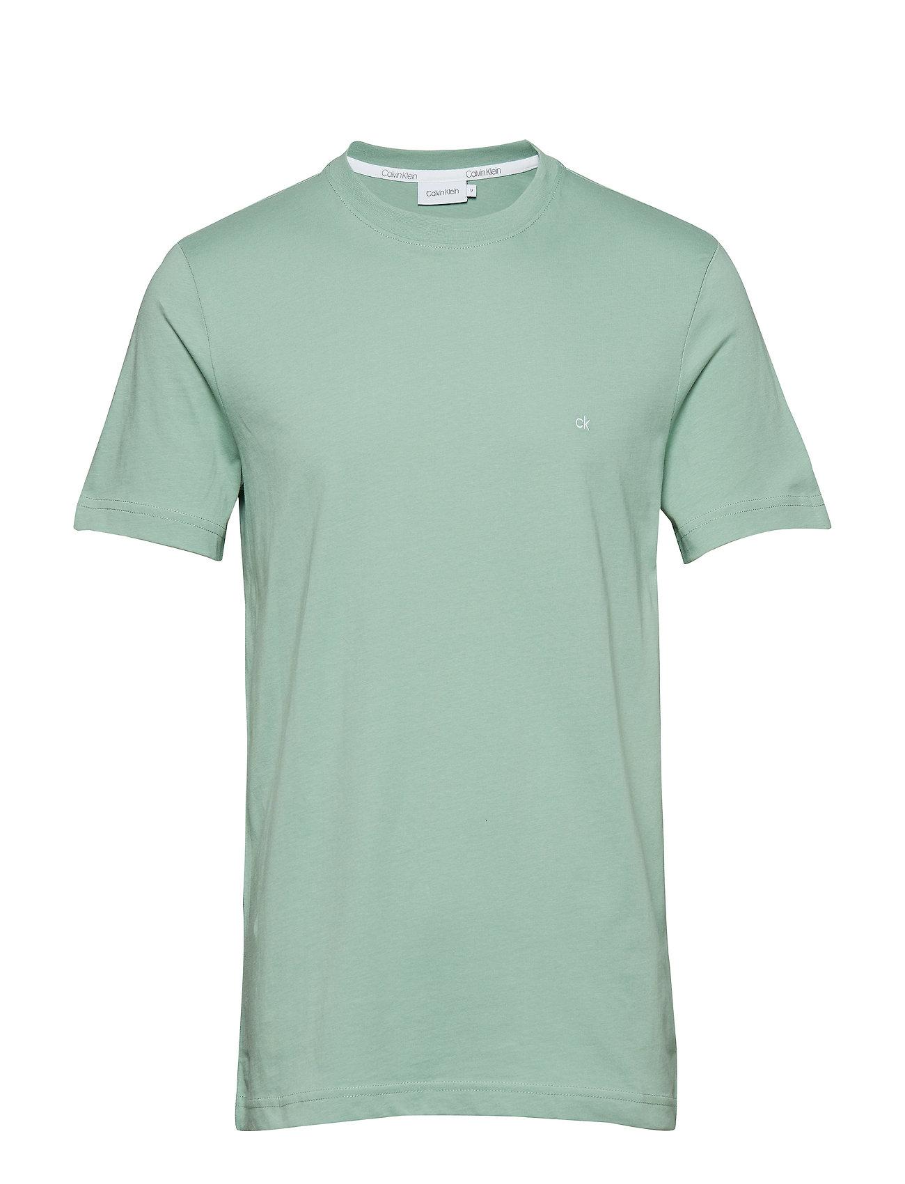 Calvin Klein COTTON LOGO EMBROIDE - GRANITE GREEN
