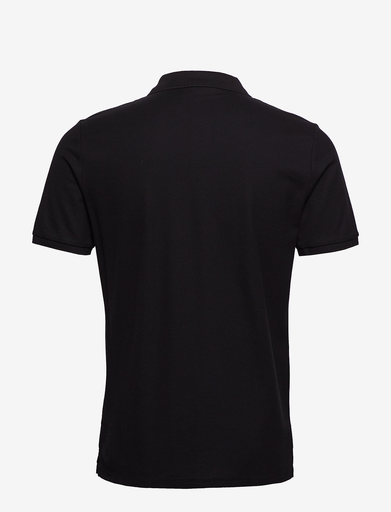 Calvin Klein - REFINED PIQUE CHEST - korte mouwen - perfect black - 1