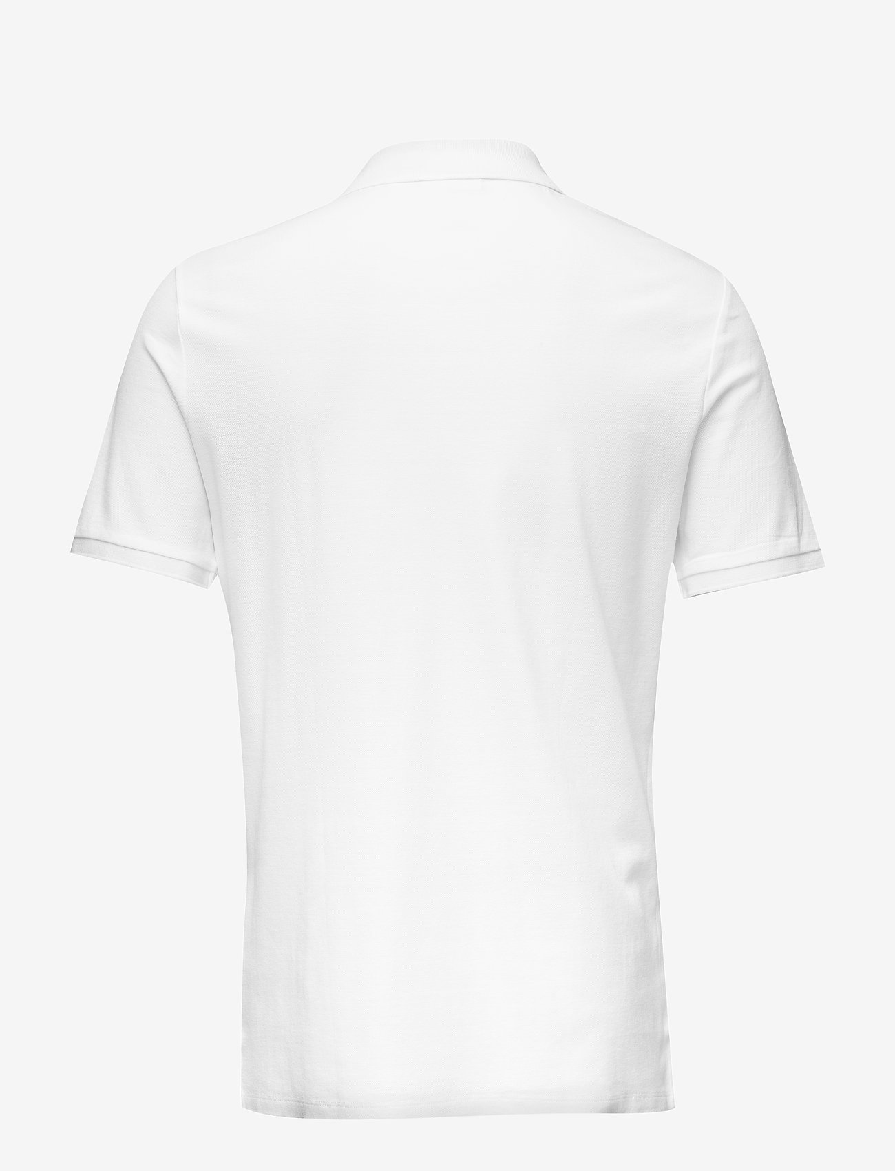 Calvin Klein - REFINED PIQUE CHEST - korte mouwen - perfect white - 1