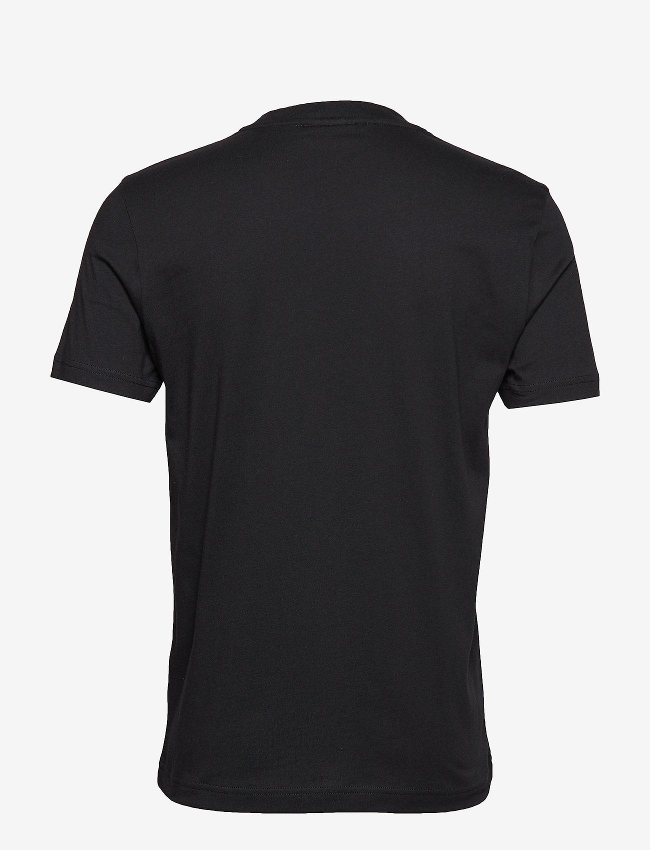 Calvin Klein - COTTON CHEST LOGO T-SHIRT - basic t-shirts - calvin black - 1