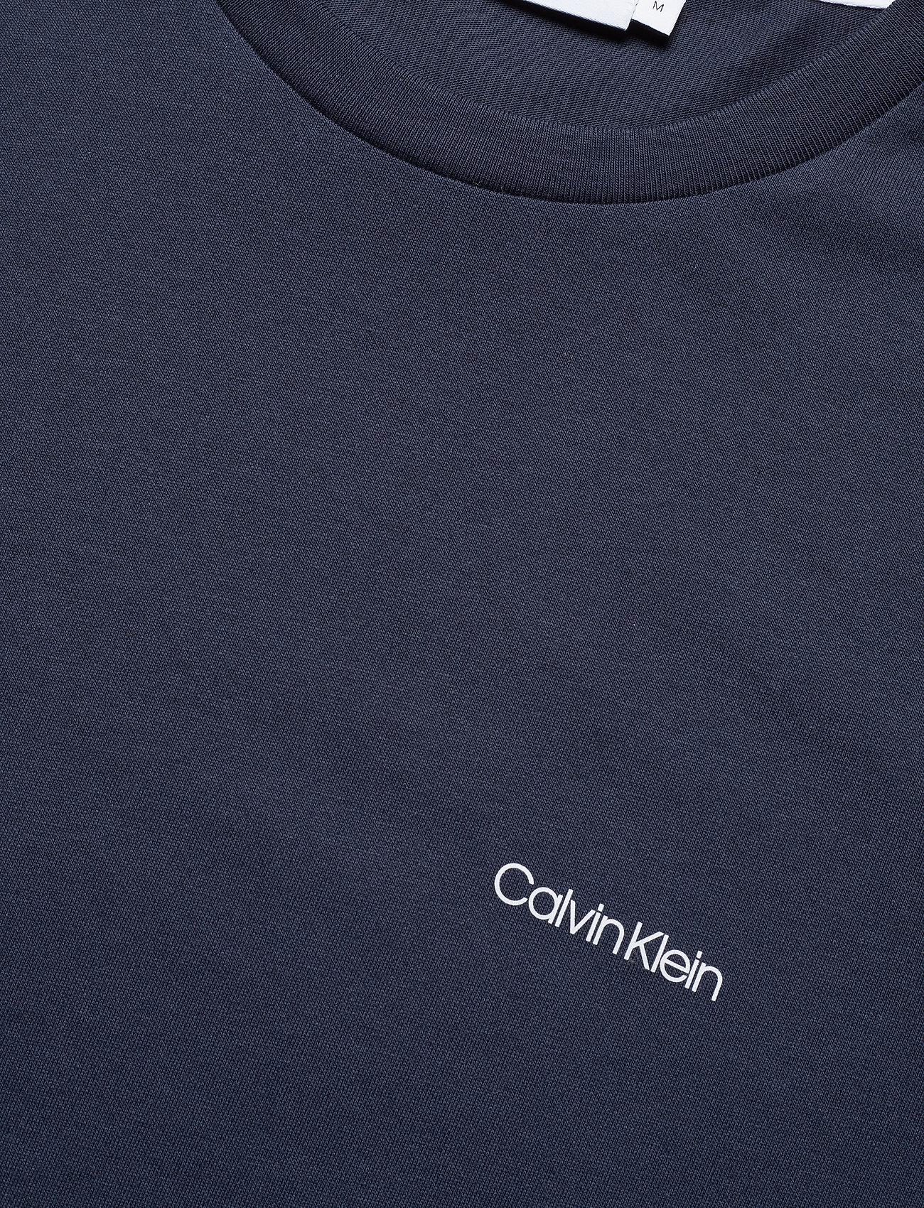 Calvin Klein - COTTON CHEST LOGO T-SHIRT - basic t-shirts - calvin navy - 2