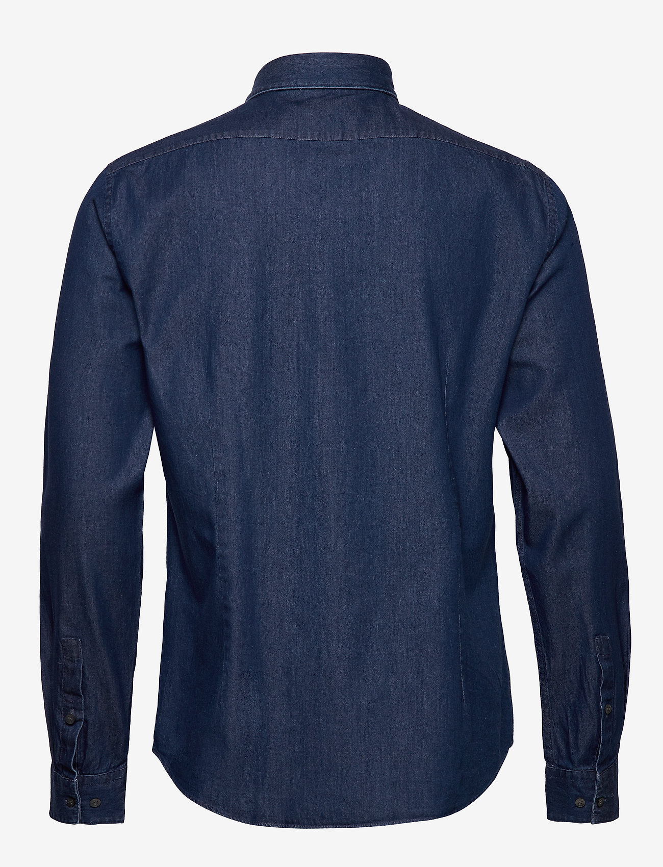 Calvin Klein - DENIM WASHED SLIM SH - basic overhemden - blue - 1