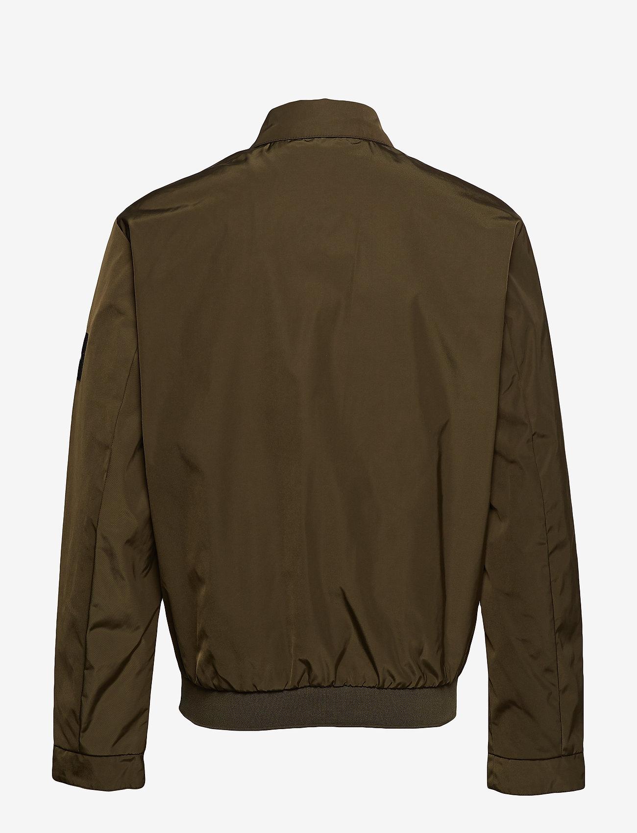 Calvin Klein - NYLON HARRINGTON JAC - light jackets - ck dark olive - 1