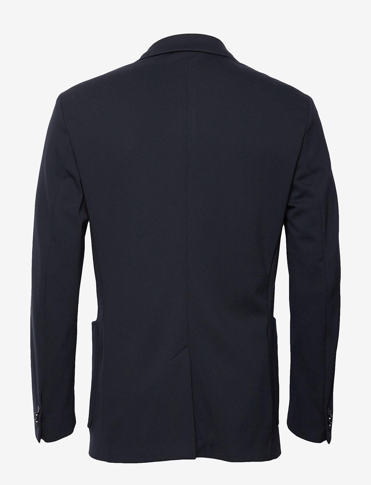 Solid Jersey Casual Blazer (Calvin Navy) - Calvin Klein bSCi8A