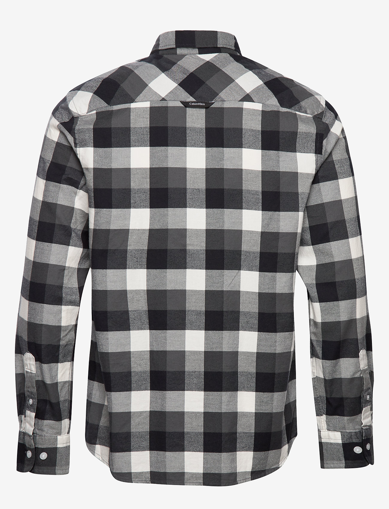 Calvin Klein Brushed Twill Check Shirt - Chemises